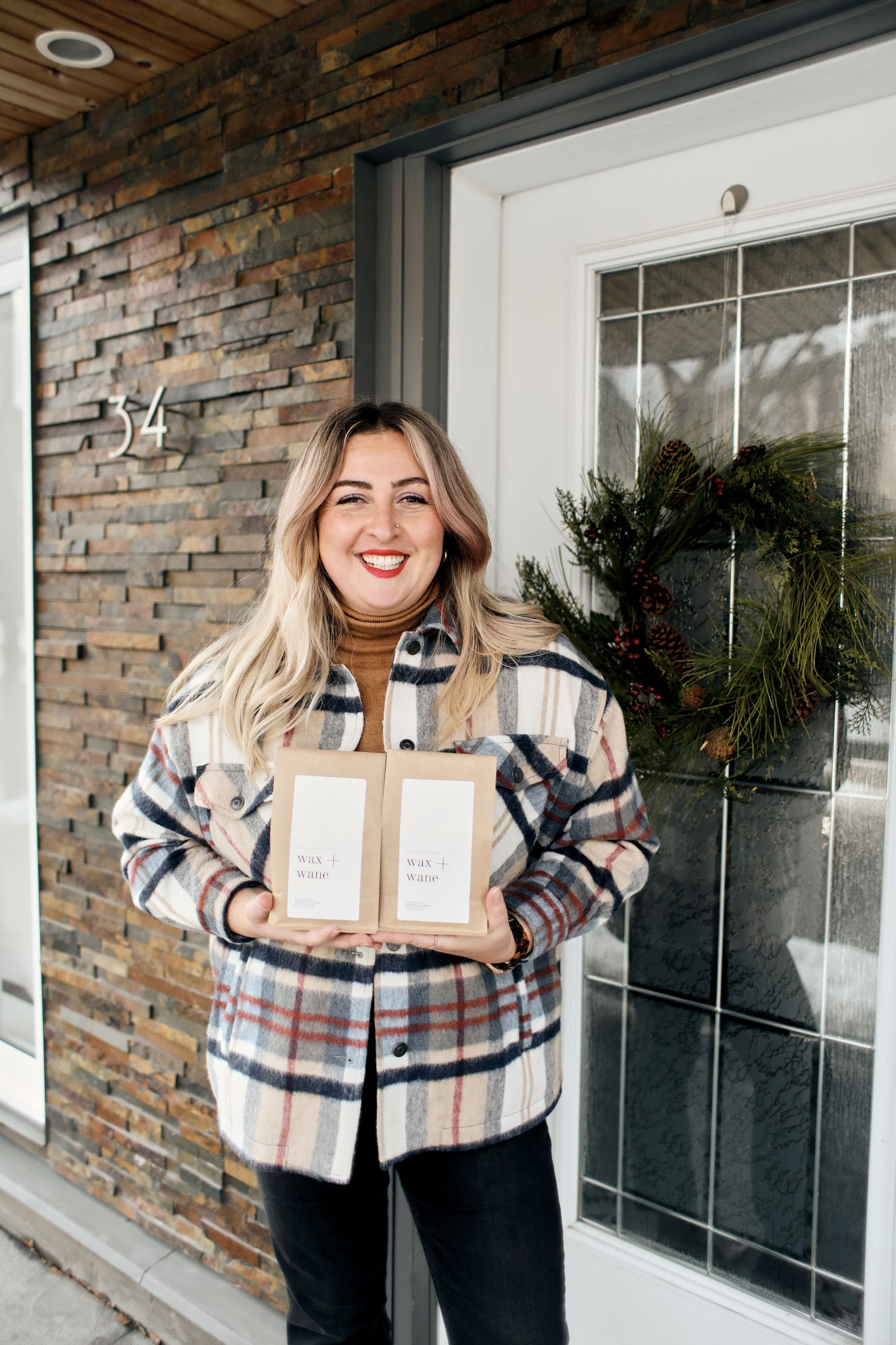 Chantal Sarkisian, a.k.a Chantsy, owner of Wax + Wane Coffee