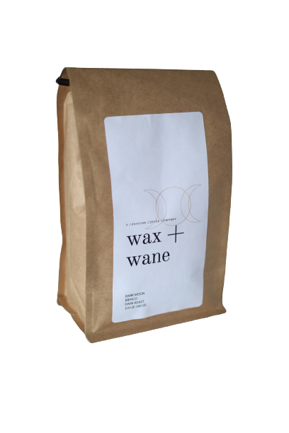 Dark moon Mexico Wax and Wane Coffee